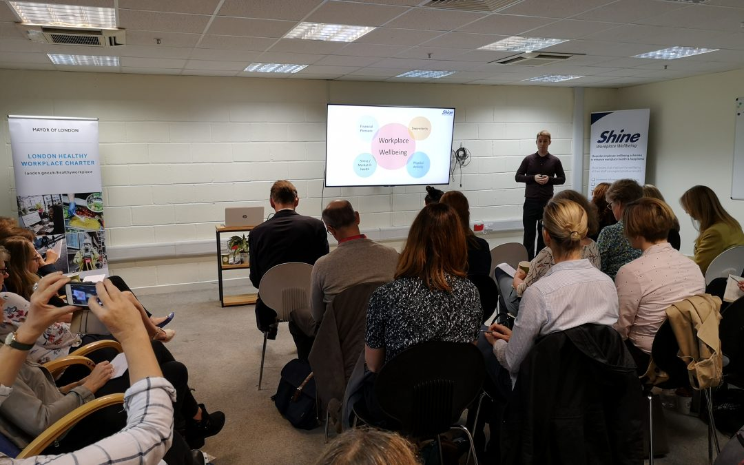 Workplace Wellbeing event for SMEs – speaker presentations