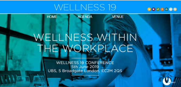 WELLNESS19 – special offer at this informative Workplace Wellness event