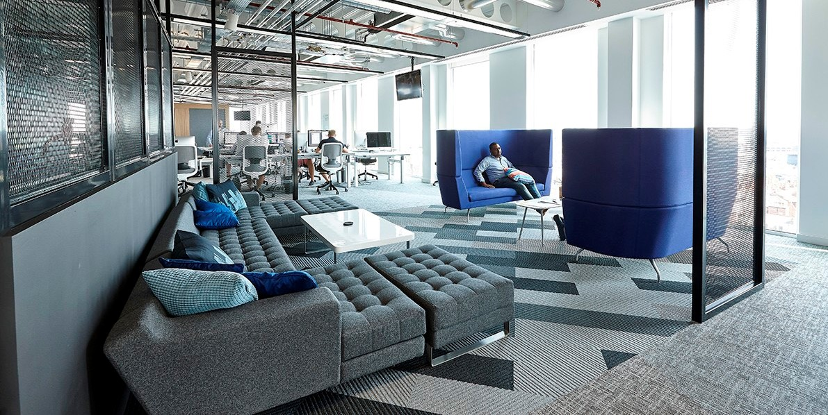 Office design for wellbeing